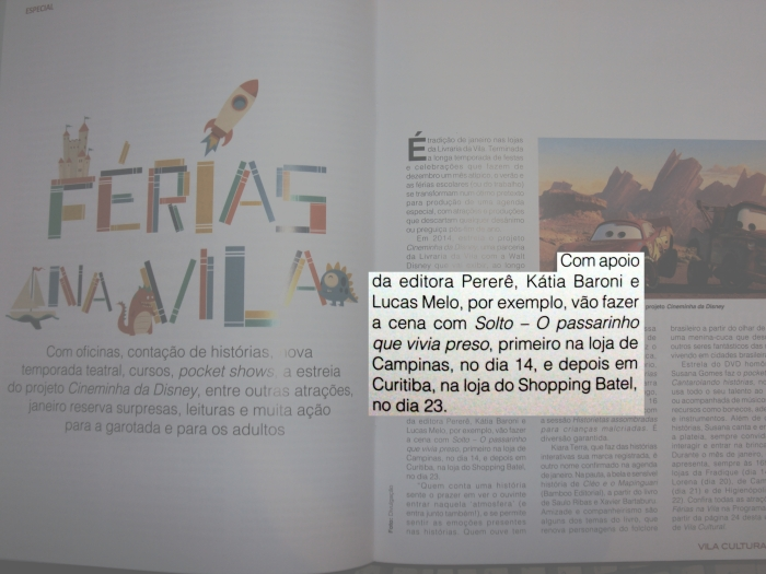 Revista Vila Cultural